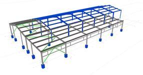 Přístavba skladové haly