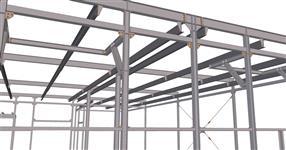 Ocelová konstrukce přístavby výrobní haly - Staré Město pod Sněžníkem