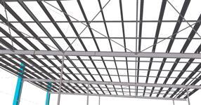 Ocelová konstrukce přístavby skladu