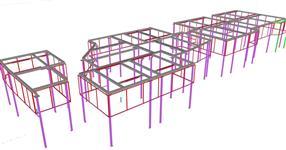 Ocelová konstrukce pracovních boxů automatizovaných pracovišť