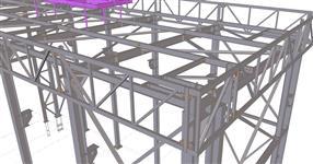 Ocelová konstrukce montážní haly