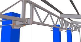 Ocelová konstrukce rozšíření přístřešku