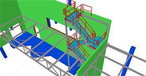 Pomocné ocelové konstrukce rozšíření provozu pekárny
