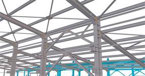 Ocelové konstrukce rozšíření výrobní haly s přípravou pro instalaci jeřábové dráhy