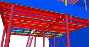 Ocelová konstrukce výrobní budovy