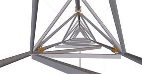 Ocelová konstrukce technologického mostu