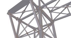 ocelové konstrukce pro instalaci technologie energetického komplexu