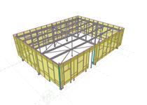 ocelová konstrukce administrativní budovy