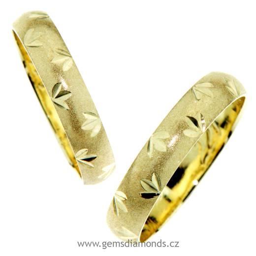 Snubni Prsteny Zlute Zlato Pretis S R O