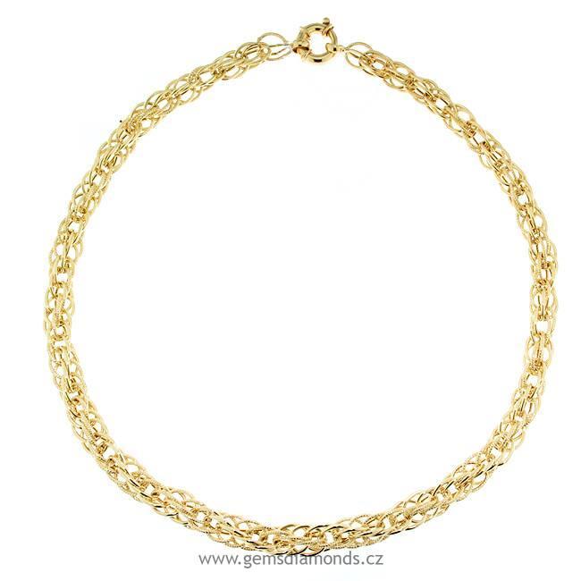 05ab4be93 zlatý dámský náhrdelník žluté zlato | Pretis s.r.o.